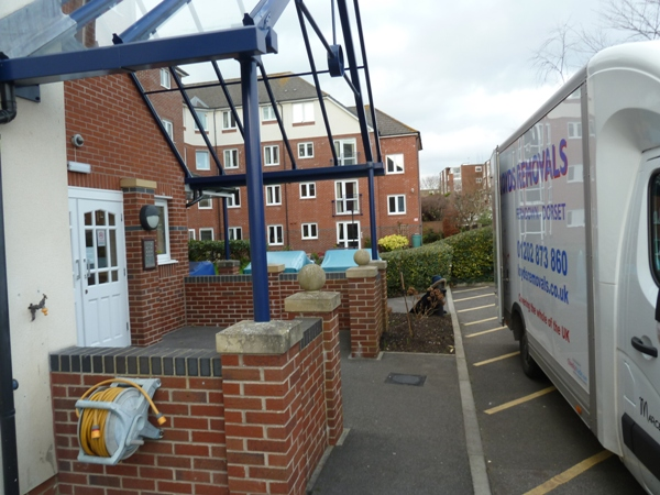 Flat removals Bournemouth, Dorset