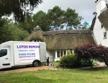 Small van removals Ringwood, Hampshire
