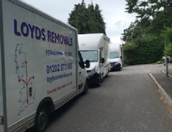Small van removals Bournemouth