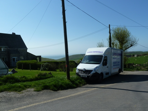Small van removals Dorset